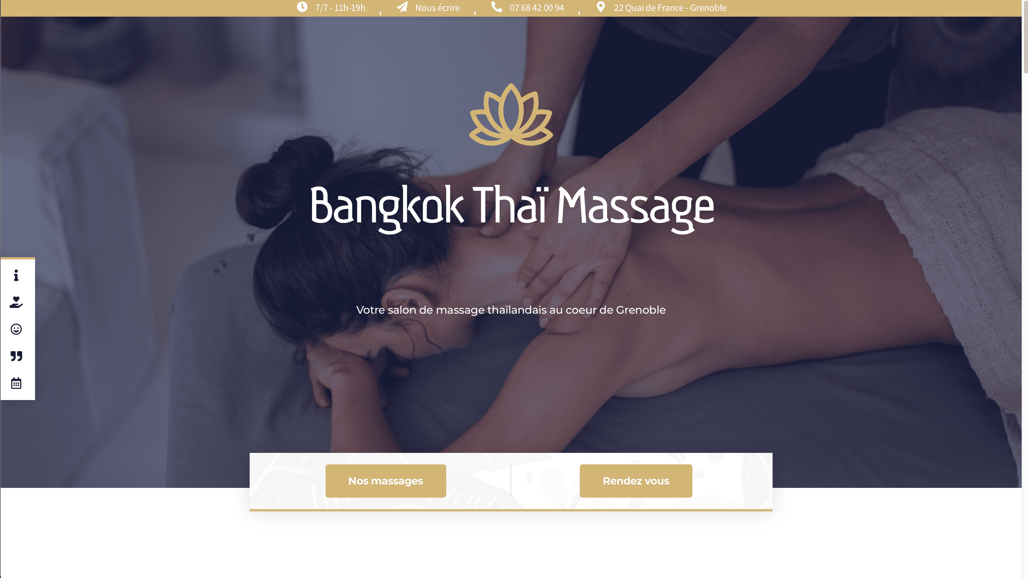 Bangkok Thai Massage Agence Artwork Votre Agence de Communication Digitale