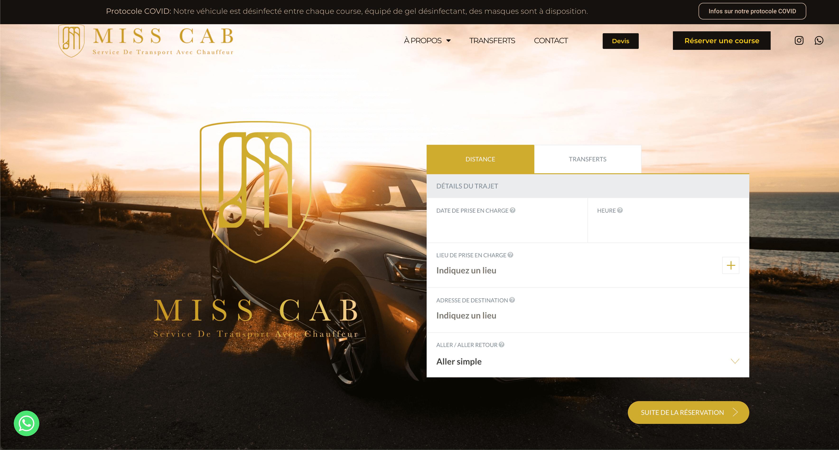 MissCab Agence Artwork Votre Agence de Communication Digitale